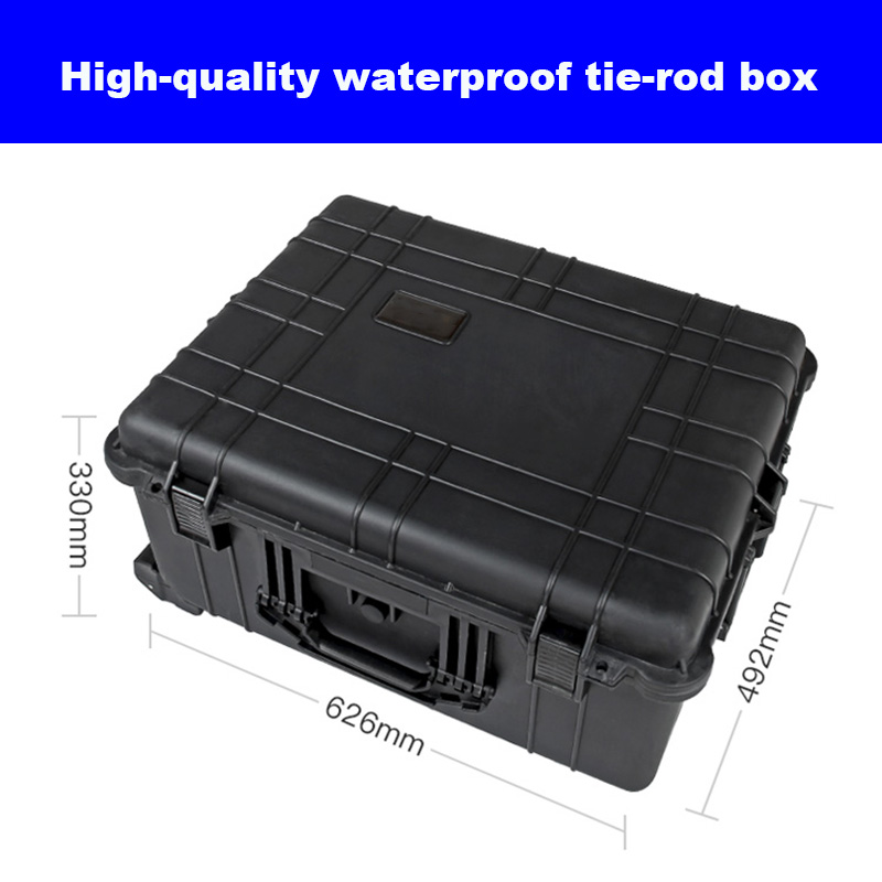 Waterproof Trolley Case Toolbox Tool Case Dustproof Protective Camera Case Instrument Equipment Box With Pre-cut Foam Lining