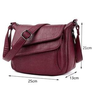 Image 2 - Sacs à Main de luxe en cuir pour femmes, sacoches à épaule de bonne qualité, sacs de styliste, offre spéciale 2019