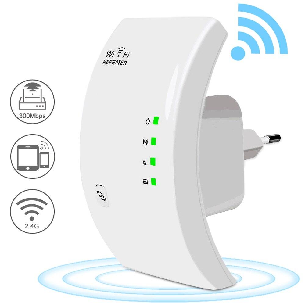 Wifi amplificador de reforço wi-fi repetidor wi fi em casa extensor 300 m amplificador de sinal wi-fi extensor longa distância internet amplificador