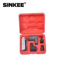 5 PC 22mm Sauerstoff Vakuum Lambda Sensor Entfernen Buchse Set Kit Gewinde Verfolger Zündkerze Auto Werkzeuge SK1205