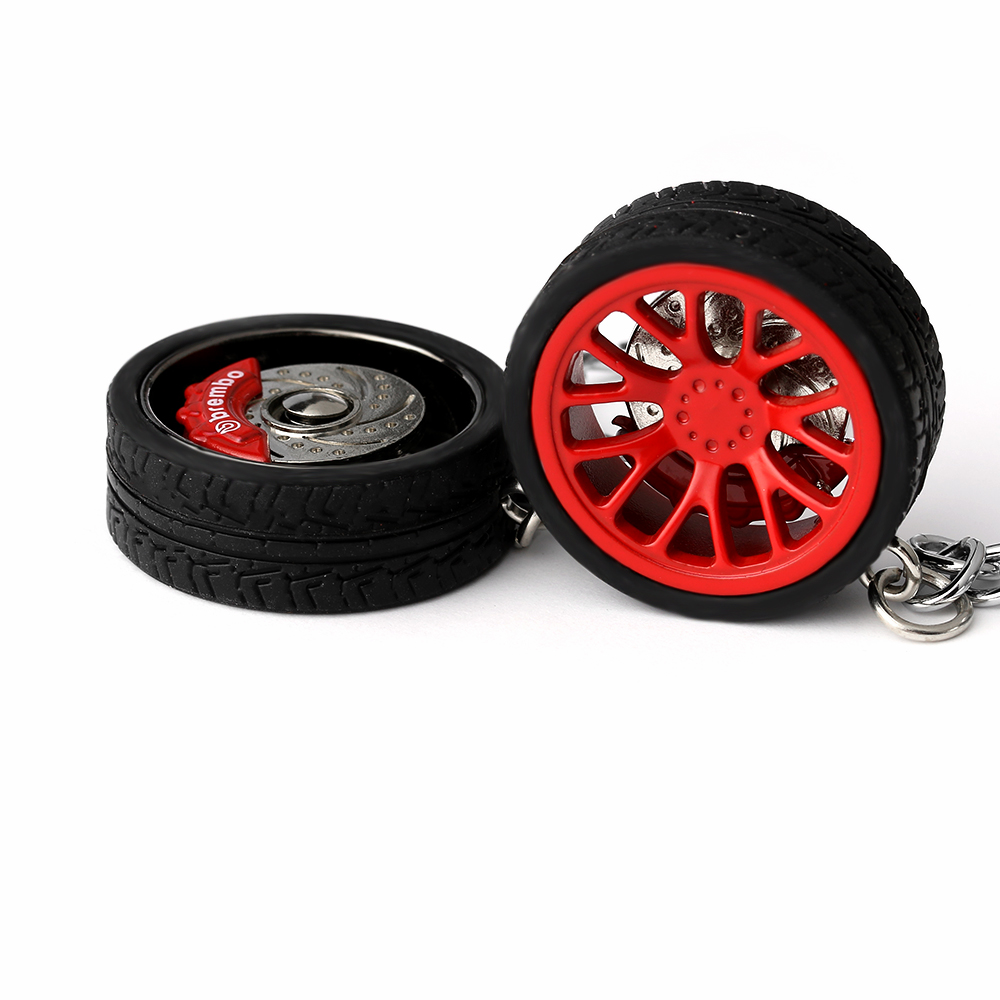 Key-Ring Brake-Discs Audi Auto With Car-Tire-Wheel-Keychain For BMW