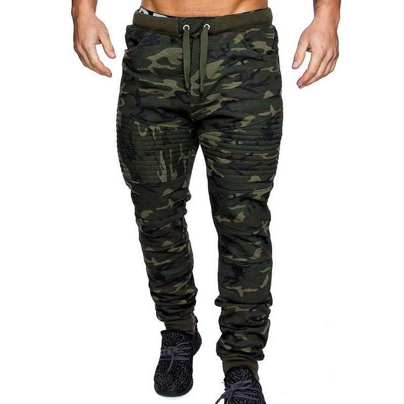 Litthing 2019 Camouflage Pantaloni da Jogging Uomini Sport Leggings Fitness Calzamaglie Palestra Jogger Bodybuilding Sport Ranning Pantaloni Pantaloni
