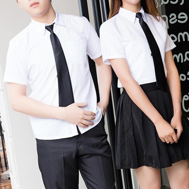 8cm Lazy Men's Zipper Tie Pure Colour Tie 9cm Polyester Silk Matt Tie Mens Tie  Silk Tie Formal Dress Business Affairs