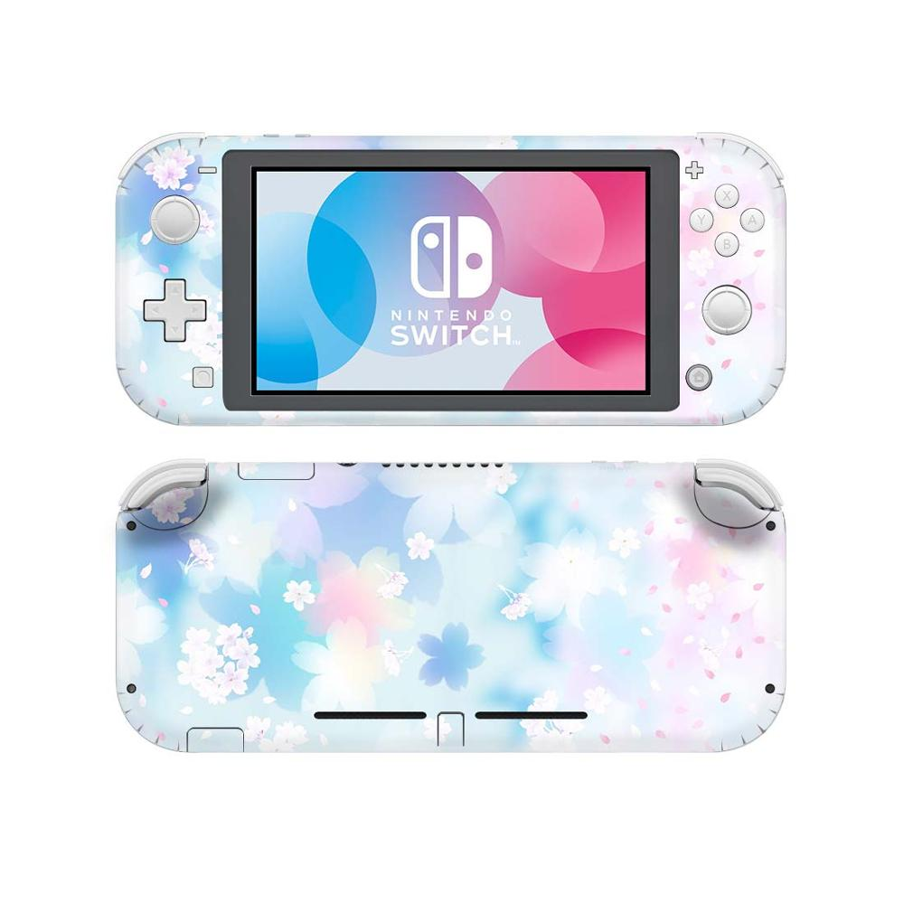 Pink Purple Flower NintendoSwitch Skin Sticker Decal Cover For Nintendo Switch Lite Protector Nintend Switch Lite Skin Sticker