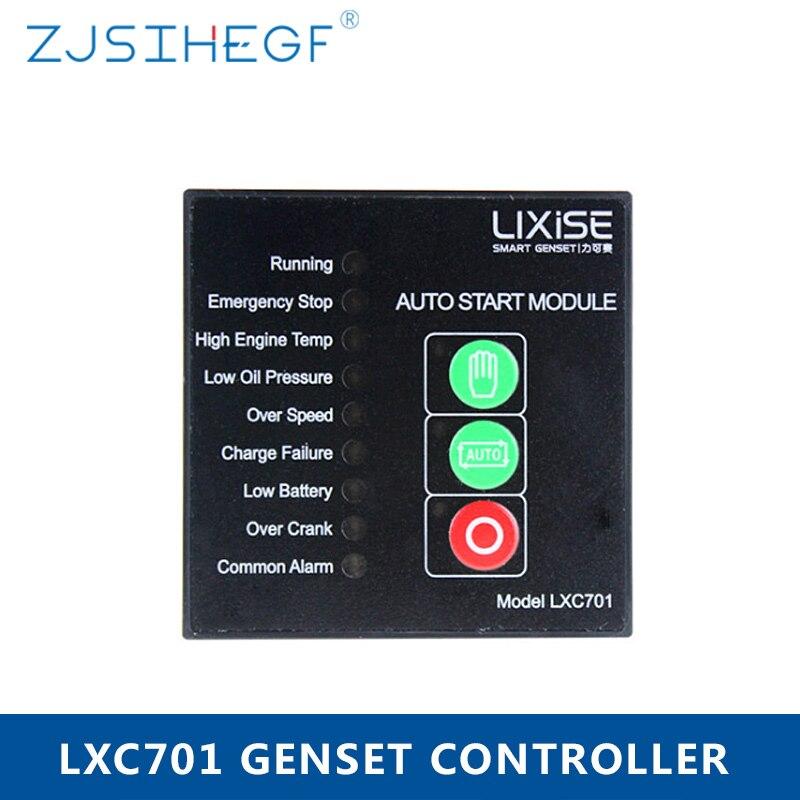 LXC701 complètement remplacé Module de commande de générateur Diesel Deepsea 501 contrôle automatique du groupe électrogène du détroit