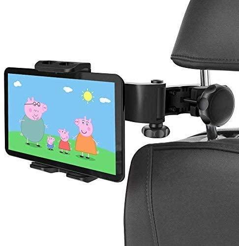 universal Car Headrest Mount Back Seat Bracket for iPad 2/3/4/Mini/Air pro 12.9 for Samsung Galaxy Tab S7 plus 4''-13'' tab