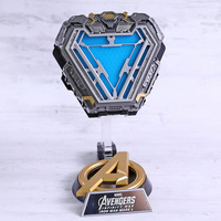Marvel Avengers Infinity War Iron Man MK50 Mark L Arc Reactor 1/1 Prop Replica Model Figure Toy with LED Light