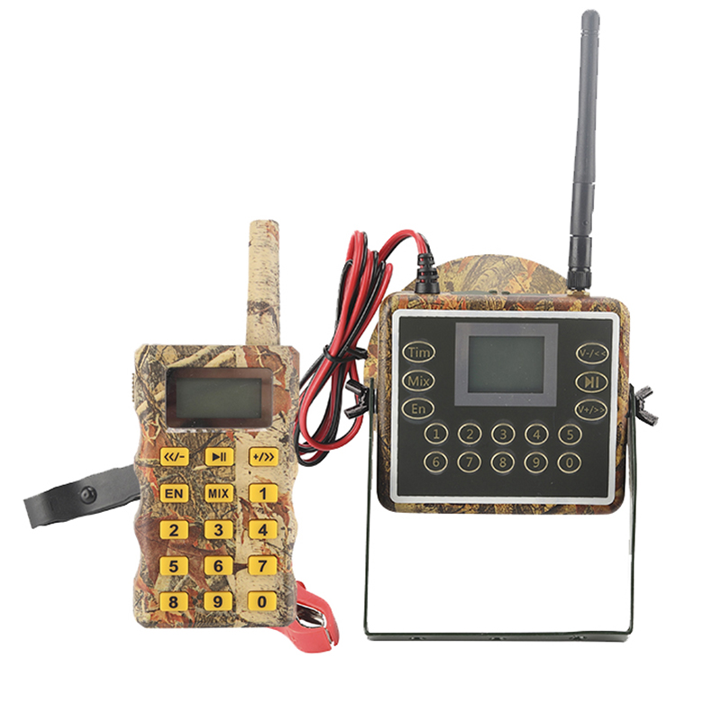 NEW-Hunting Bird Duck Goose Geese Voice Caller Hunting Mp3 Player Animal Amplifier MIX Sounds + Remote Controller + 60W Speaker