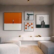 Beleza dança quadros em tela na parede paomtomg para decoração do escritório cuadros abstractos modernos