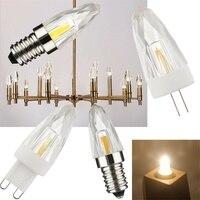 10PCS/Lot New Mini E12 E14 4W Crystal Chandeliers LED Light G4 G9 Dimmable Replace 30W Halogen White Lamp AC 110V 220V
