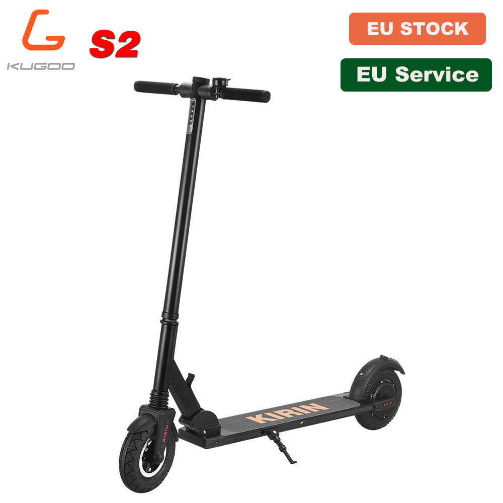 [Official Store] 11KG light KUGOO KIRIN S2 Folding Adult <font><b>Electric</b></font> <font><b>Scooter</b></font> LCD Display Max 25KM/H 8 Inch Tire e <font><b>Scooter</b></font> M365 PRO image