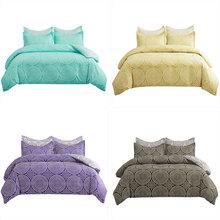 Pillowcase Bedding-Sets Quilt-Covers Bedroom Mandala-Pattern 240x220 Nordic Purple/green