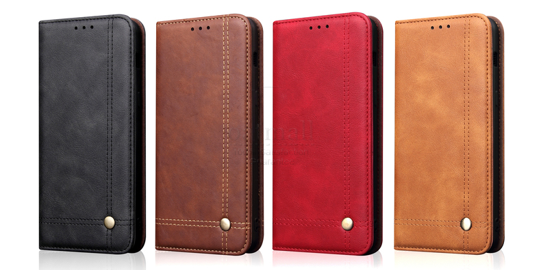 H72f1e16ef8f84751b294f7e805b16aa9C Luxury Retro Slim Leather Flip Cover For Xiaomi Redmi Note 8 / 8T / 8 Pro Case Wallet Card Stand Magnetic Book Cover Phone Case