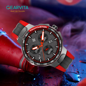 Image 5 - E15 חכם שעון גברים ספורט שעונים IP68 עמיד למים GPS מסלול קצב לב לחץ דם מזג אוויר Smartwatch PK P8 שעון