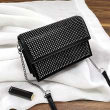 Designed Diamond woman leather bags Black Cow Skin messenger bag fashion leather shoulder bag purse bolsa feminina #FD201