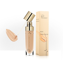 10 Colors Face Makeup Concealer Liquid Waterproof Full Coverage Foundation Cream Make Up Base Korea Cosmetic Concealer TSLM2 sace lady full cover 8 color liquid concealer waterproof full cover concealer cream makeup base cosmetic perfect face foundation