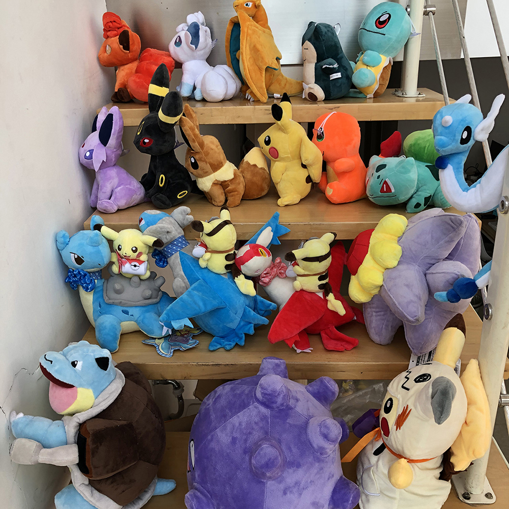 41 Styles Pikachued Charmander Bulbasaur Squirtle Pokemoned Plush Toys Eevee Snorlax Jigglypuff Stuffed Doll Christmas Kid Gift 6