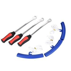 6 шт. набор рычаг обода протектор Авто велосипед ремонт шин колеса рекомбинант съемный инструмент Замена шин набор инструментов