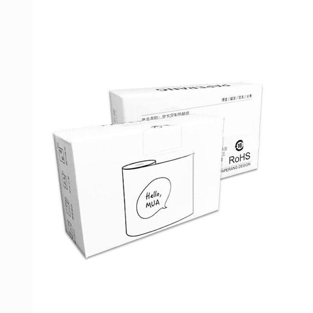 3 Rolls 57x30mm Heat Sensitive Thermal Printing Paper Set Heat Sensitive Thermal Printing Paper Set For Paperang Printer