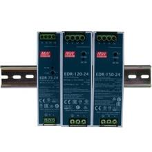 MEAN WELL – Rail DIN industriel à sortie unique, 120 240 480 12V 24V 48 V meanwell-120 -240 -480 W 12 24 48 V