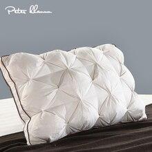 פיטר Khanun 48*74cm יוקרה 3D סגנון מלבן לבן אווז/ברווז למטה נוצת מצעים כריות למטה  הוכחת 100% כותנה מעטפת 038