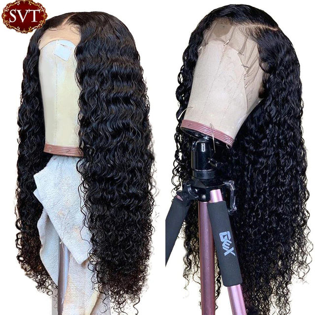 Deep Curly Lace Front Wig 2