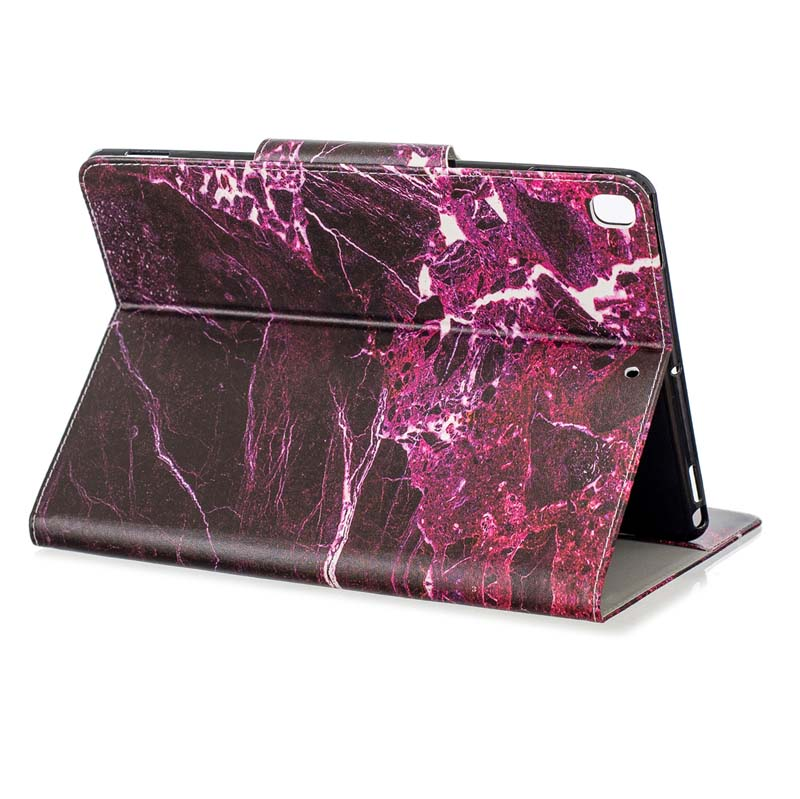 case Clear Stand Flip PU Leather Capa Case For iPad 10 2 Case 2019 A2200 A2198 A2197 A2232