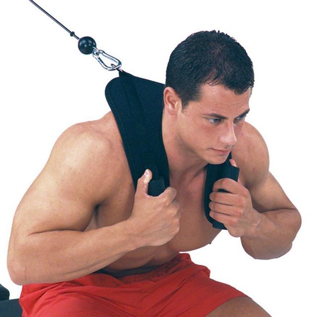 Fitness Abdominal Crunch Straps Exercise Pulling hjemmetrening