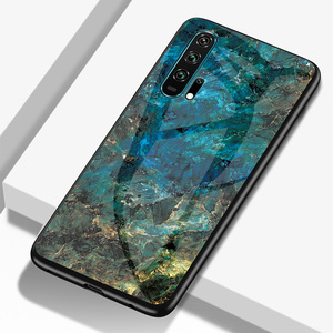Image 3 - Phone Case for Huawei Honor 20 Pro Case Honor 20S 20 s Cover Marble Smooth Tempered Glass Cases for Huawei Honor 20s funda 20pro