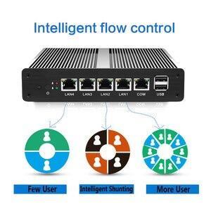 Image 5 - Routeur souple Mini PC Intel Celeron J1900 N2830 4 go DDR3L RAM 60 go SSD 4 * Gigabit Ethernet RJ45 Consel pare feu PFsense appareil