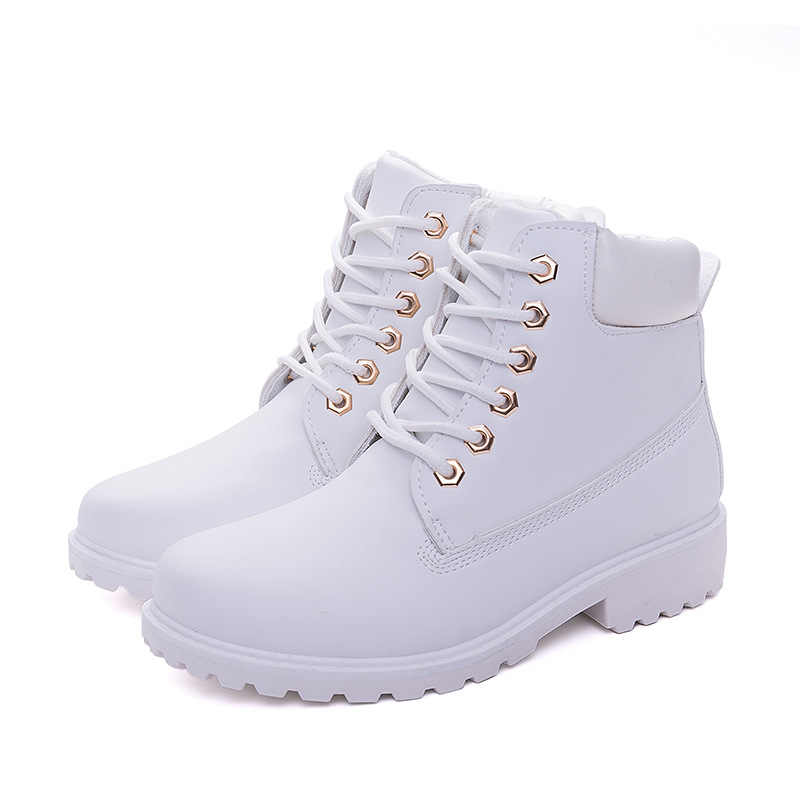Kadın çıplak çizmeler Yeni Sonbahar Erken Kış Ayakkabı Kadınlar Düz Topuk Botlar Moda sıcak Tutmak bayan Botları kırmızı pembe kadın Ayak Bileği Botas