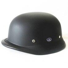 Шлем Летний шлем Harley tai zi kui половина шлем матовый черный