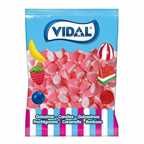 Gominolas Vidal Azúcar Besos Fresa-nata (250 Unid)