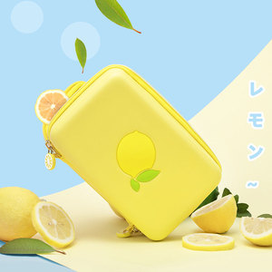 Image 2 - 닌텐도 스위치 레몬 가방에 대 한 휴대용 케이스 가방 닌텐도 스위치 게임 콘솔 액세서리에 대 한 EVA 하드 커버 셸 NS 스토리지 박스