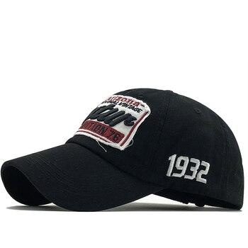 New Men's Baseball Cap For Women Snapback Hat Letter Embroidery Bone Cap Gorras Casual Casquette Men Fishing Baseball Hat