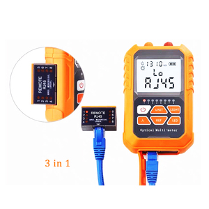 3in1 Optical Power Meter Visual Fault Locator Network Cable Test optical fiber tester otdr 1mw with 5km Visual Fault Locator