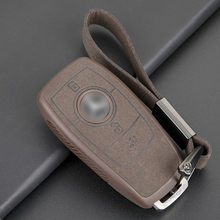 Leather TPU Car Key Cover Case Shell Bag Protective Key Ring For Mercedes Benz 2017 E Class W213 2018 S class Accessories(China)