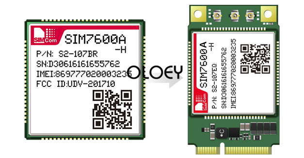 SIM7600A H MINIPCIE LTE Moudle, SIM7600A-H CAT4 Wireless Module,MINIPCIE Interface 100% Brand New Original
