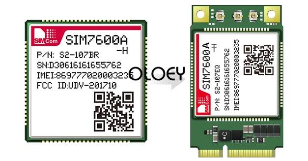 SIM7600A H MINIPCIE LTE Moudle, SIM7600A-H CAT4 Wireless Module,MINIPCIE Interface 100% Brand New Original