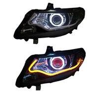 For Honda City 2009 2010 2011 2012 Headlight with HID Angle Demon Halo LED Light Stripe Ballast