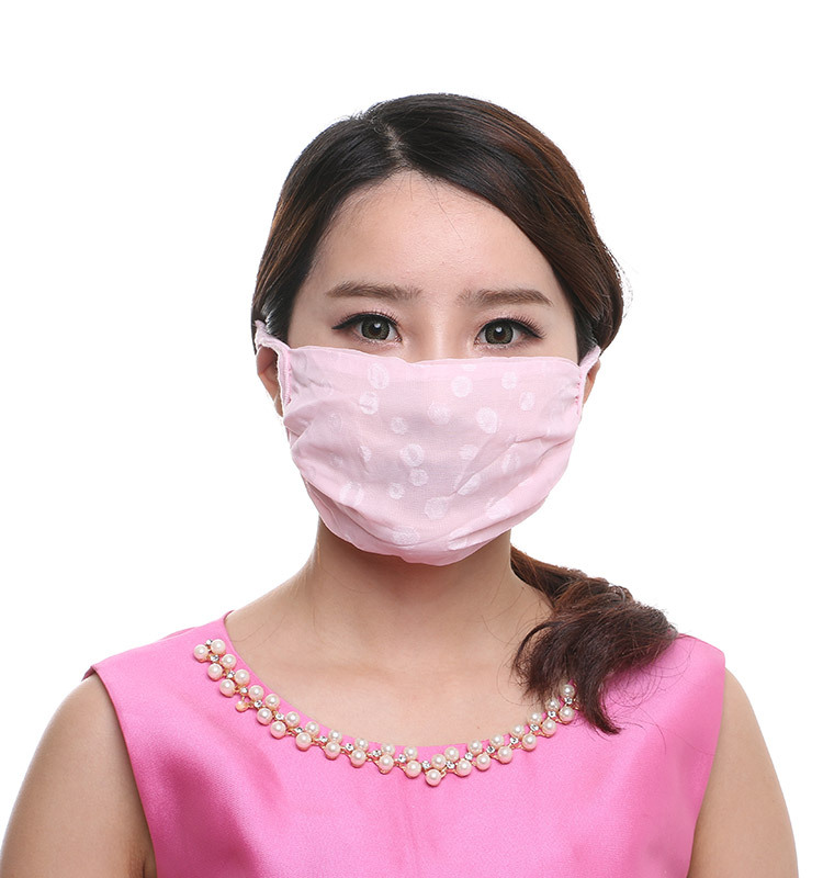 Sun-resistant Summer Face Mask Women's Cycling College Style Breathable Anti-Purple Line