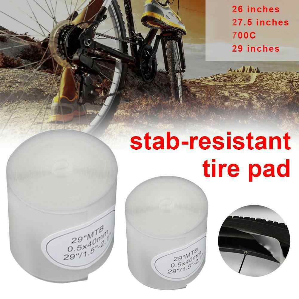 2x Bike Tire Liner Anti-Puncture Bicycle Tube Protector Tape For 700C Road Bike