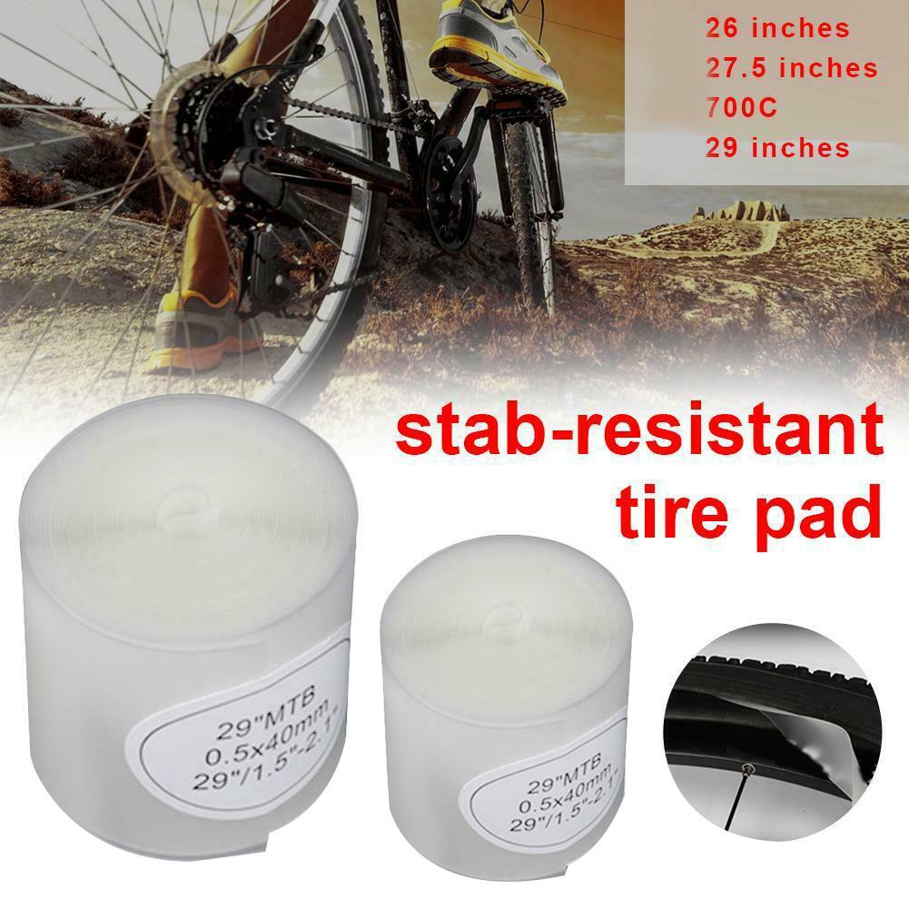 """Bicycle Bike Tire Liner Puncture Tyre Protector Tape 26//27.5//29/"""" Durable"""