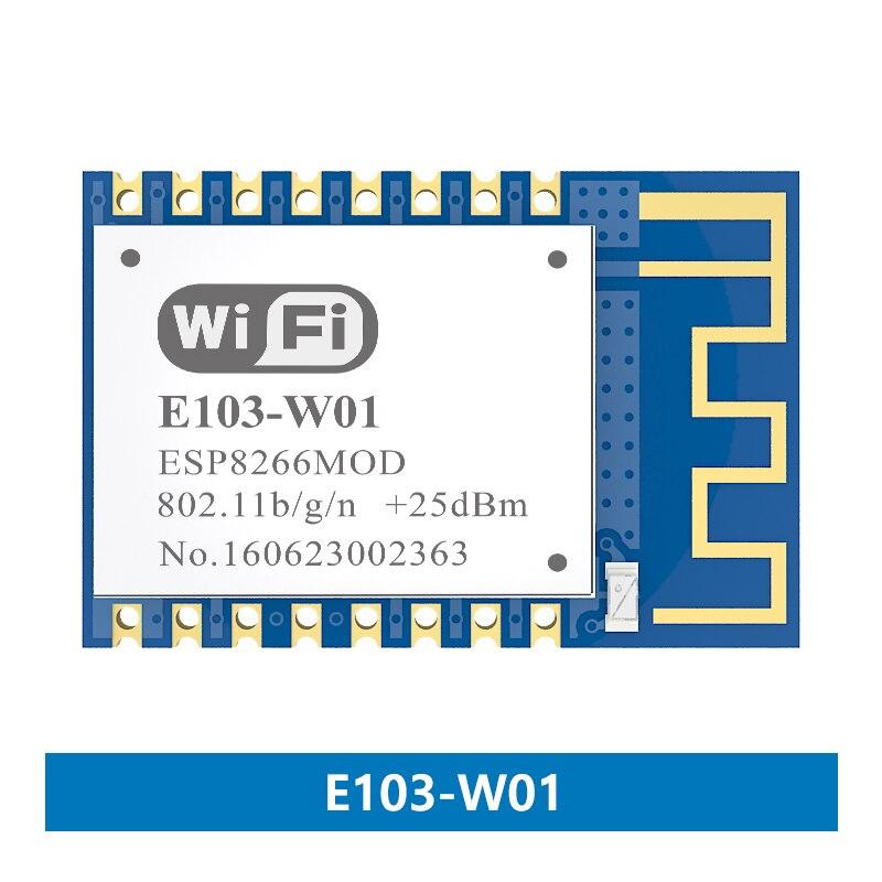 E103-W01 ESP8266EX 2.4Ghz 100mW WIFI ESP8266 Transmitter And Receiver RF Module Esp8266 Wifi Module Transmitter And Receiver