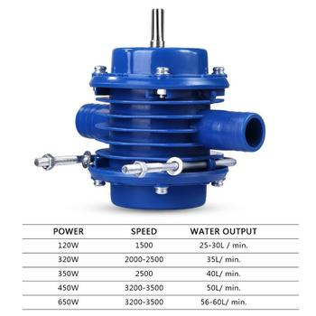Hand drill water pump Mini self-priming pump DC pump Self-priming centrifugal pump Household small pump car washer 220v household high pressure cleaner self suction cleaner water jet brush pump self washing pump