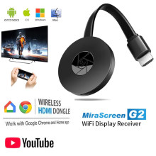 Dongle tv vara completa 1080p wifi sem fio chromecast hdmi-compatível miracast dlna tv elenco display ios /android chrome google casa
