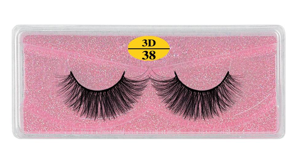 H72f6d73cfccf495bab7296e2387edeedr - MB Eyelashes Wholesale 40/50/100/200pcs 6D Mink Lashes Natural False Eyelashes Long Set faux cils Bulk Makeup wholesale lashes
