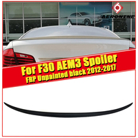 F30 AEM3 Styling Unpainted Rear Wing Trunk Spoiler 3 Series 320i 323i 328i 328d 330i Sedan & F35 M3 Look wings spoiler 2012 2017