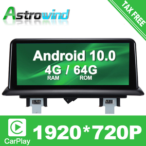 10.25 inch 4G RAM 64G ROM 8 Core Android 10.0 System Car GPS Navigation Media Stereo Radio For BMW 1 Series 120i E81 E82 E87 E88(China)