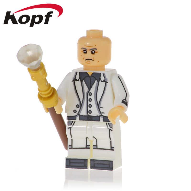 בניין סופר גיבורי עכביש-גוון Kingpin האולטימטיבי ספיידרמן פעולה דמויות בובות לילדים מתנת צעצועים XH 1139